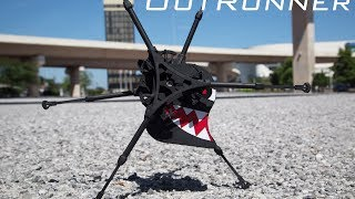 Repeat youtube video Meet OutRunner: The World's First Remotely Controlled Running Robot