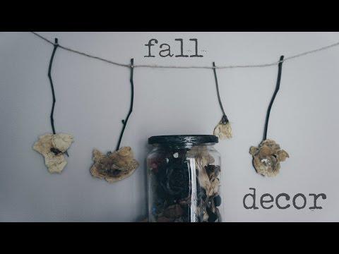 DIY SUPER Easy Flower Fall Decor