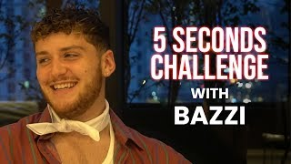 Bazzi 5 Seconds Challenge with Amir Hasan