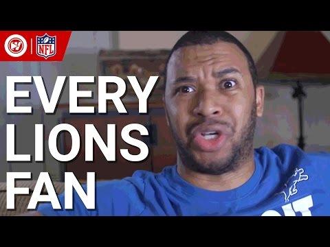 Every Fan In 90 Seconds   Detroit Lions 2016