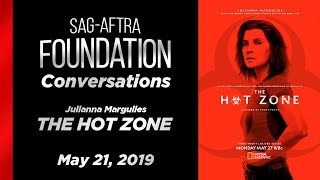 Conversations with Julianna Margulies of THE HOT ZONE