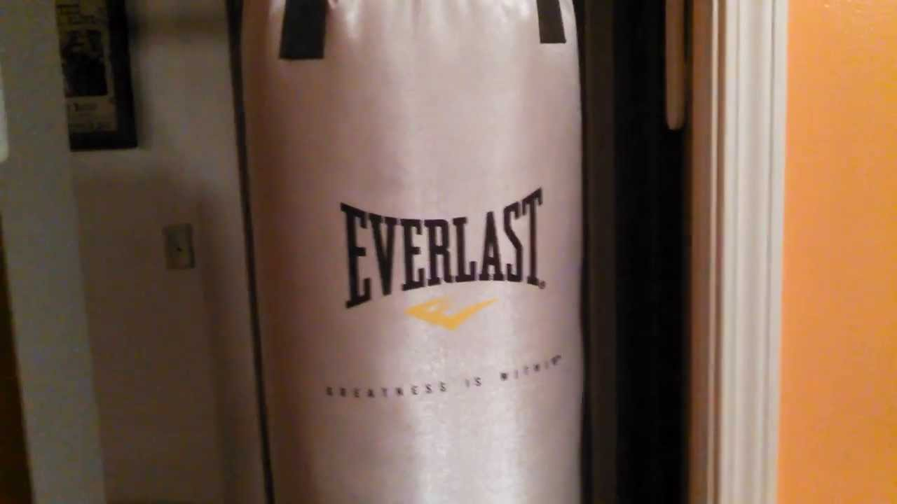 Easiest Way To Hang A Heavy Bag Or Punching Bag Youtube