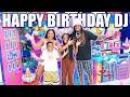 HAPPY BIRTHDAY DJ!!! WE THREW DJ AN EPIC ROBLOX PARTY