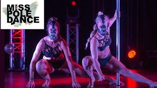Melissa Sidki & Timonie George - DOUBLES - Miss Pole Dance UK 2015