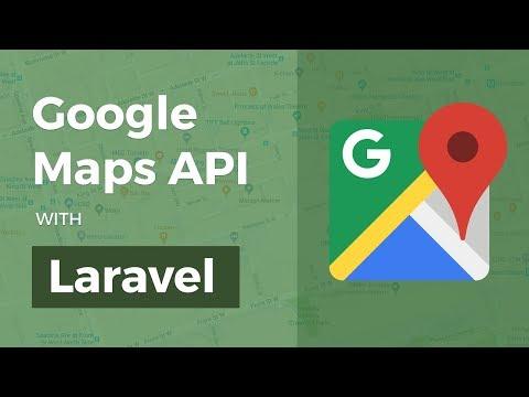 Google Maps API with Laravel
