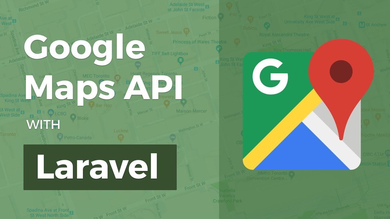 Google Maps API with Laravel