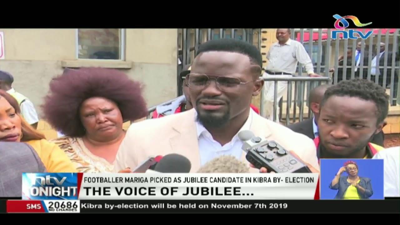 Kibra by-election: McDonald Mariga picked as Jubilee