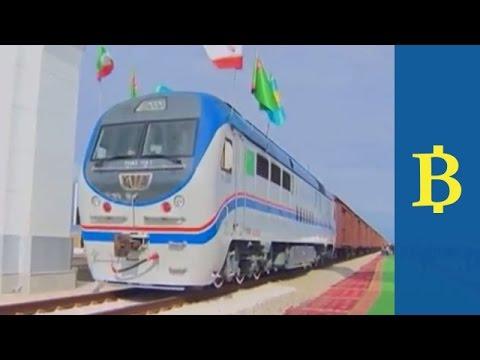 New Silk Road train