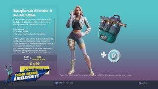 NEW PACK IN THE FORTNITE STORE ? ARIEL056YT