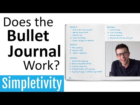 Does the Bullet Journal Really Work? (Low-Tech Experiment)