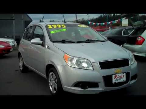 2010 Chevy Aveo 5 Hatchback Sold Youtube