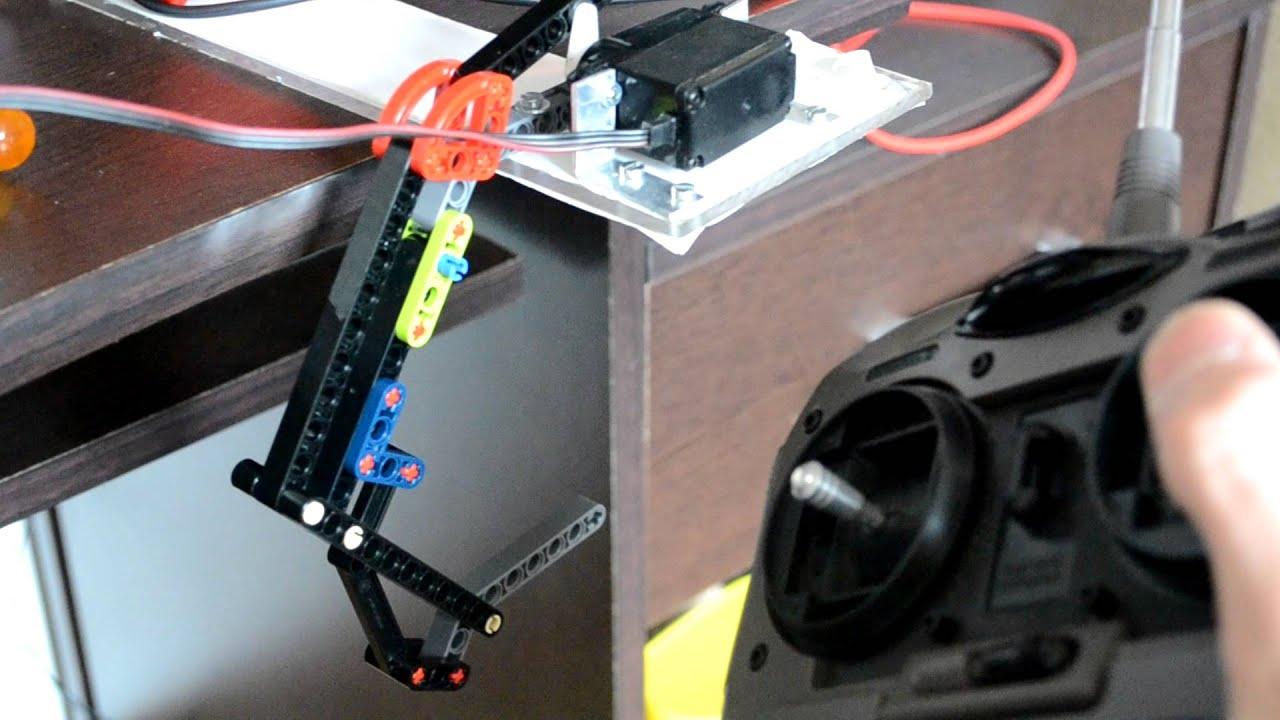 comment fabriquer un bras robotise