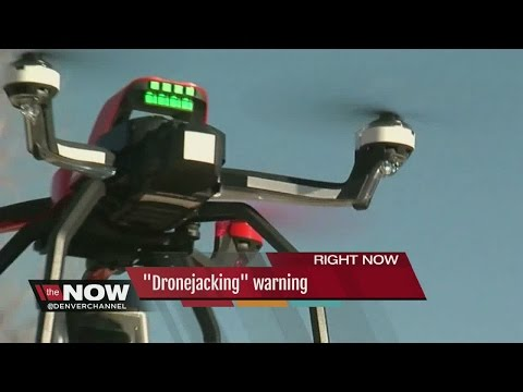 "A ""drone hacking"" warning"