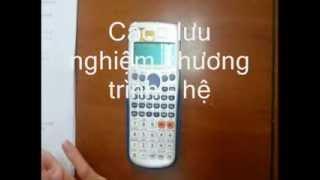 [Hướng dẫn] Lưu nghiệm phương trình - hệ phương trình trên máy tính Casio fx 570VN Plus