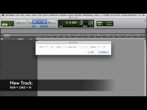Pro Tools Introduction Ep.1: Quick start menu, I/O's, Sample Rate ...