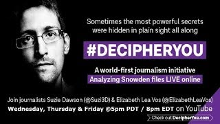 Decipher You: Episode 35 Analysing the Snowden SID Today Files Batch 5