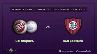 UAI Urquiza 6 - 1  San Lorenzo | #VamosLasPibas | Fútbol femenino