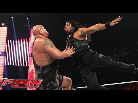 Roman Reigns vs. Big Show: Raw, January 5, 2015
