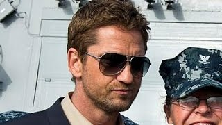 GERARD BUTLER flying with the US Air Force Thunderbirds in F-16 Aircraft