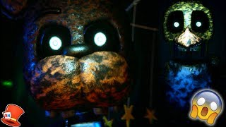 IGNITED FREDDY & CHICA ARE HIDING IN MY BEDROOM! (TJOC R The Joy Of Creation Redborn) RedHatter