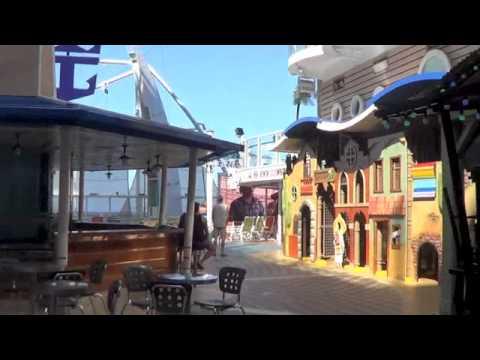 Video #109 Allure of the Seas cruise Part 3