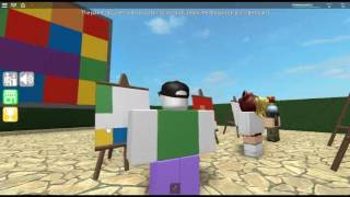 ROBLOX / Epic Minigames / Minigames / Paint to Perfection