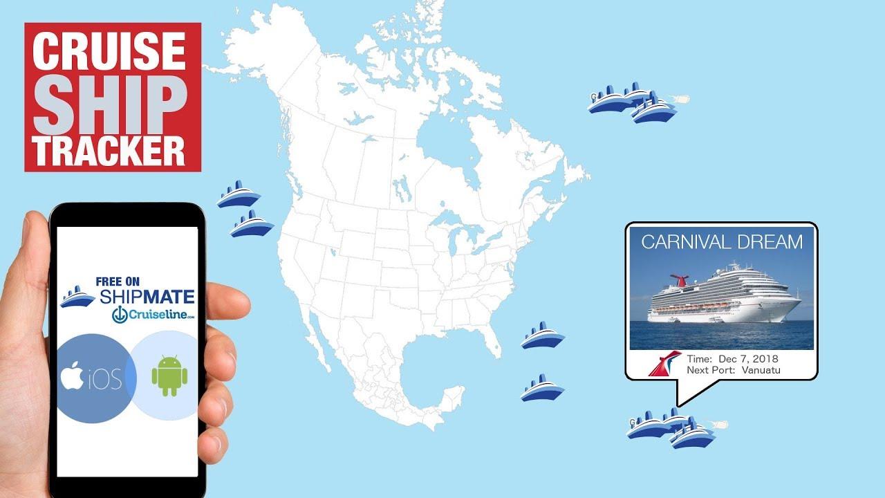 Cruise Ship Tracking Ship Mate Tutorial YouTube - Cruise ship location tracker