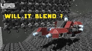Space Engineers - Will It Blend ? Weaponize Your Drills & Eat Other Ships Part 33