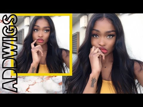 WHAT WIG? Bomb Natural Looking Silk Base Lace Wig  | ADDWIGS REVIEW