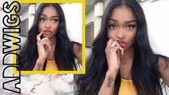 WHAT WIG? Bomb Natural Looking Silk Base Lace Wig    ADDWIGS REVIEW