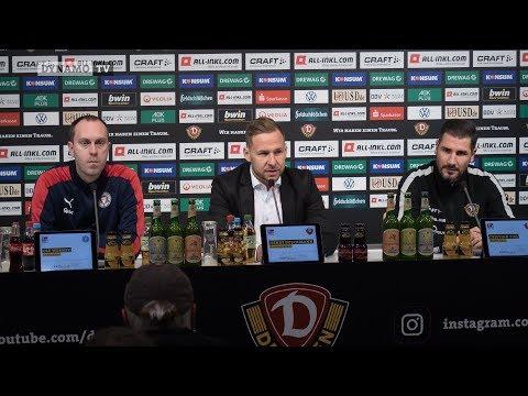 15. Spieltag | SGD - KSV | Pressekonferenz nach dem Spiel