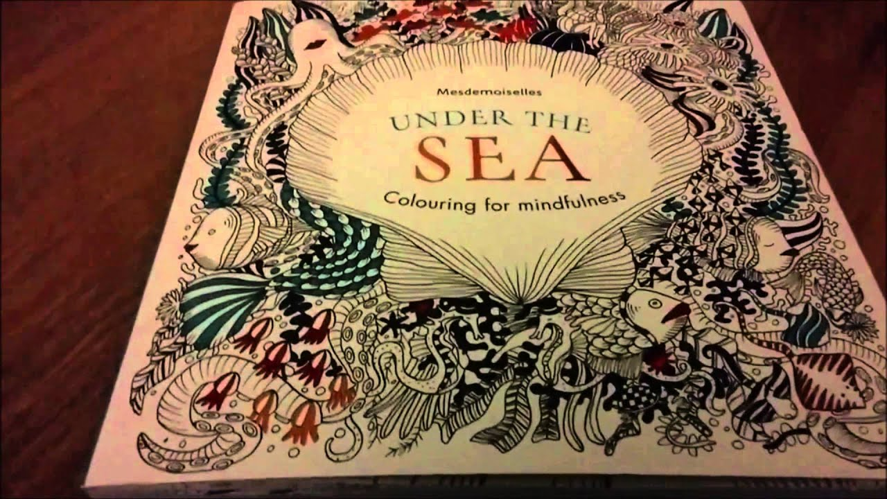 Review Under The Sea Colouring Book
