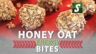 Honey Oat Energy Bites - Homemade Energy Bars