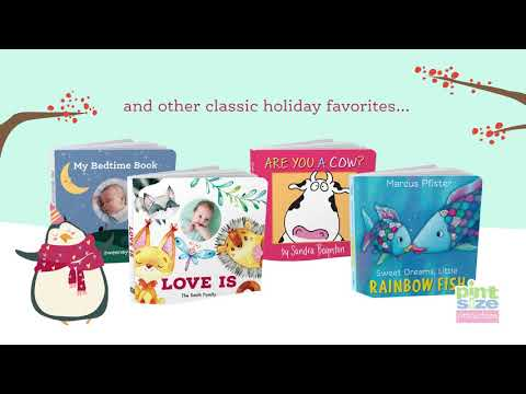 Custom Board Books For The Holidays | Pint Size Productions