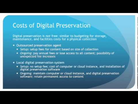 Digital Preservation for the Rest of Us: What