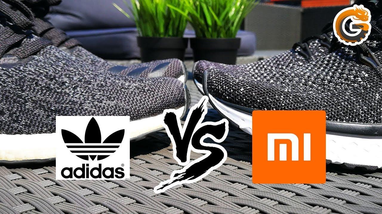 Xiaomi Schuhe vs. Adidas Sneaker Muss es immer teuer sein? Billig vs. Teuer | China Gadgets