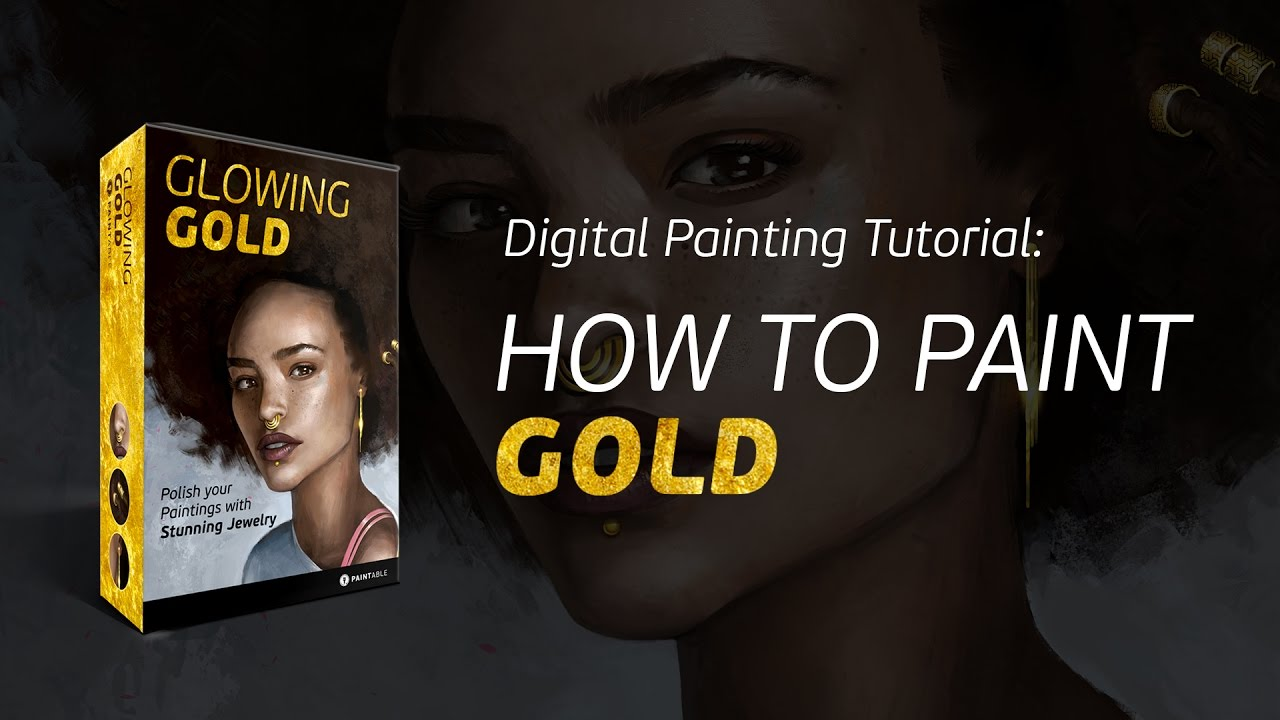 Teaser How to Paint Gold Jewelry Now In the Digital Painting