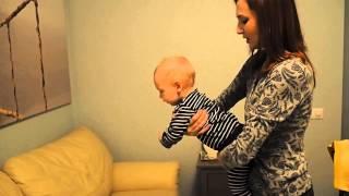видео Массаж для ребёнка 6-9 месяцев. Как делать детский массаж в домашних условиях
