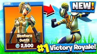 Nouvelle peau de super-héros! Ventura Tenue! (Fortnite Battle Royale)
