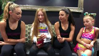 molly interviews maddie and mackenzie ziegler move it with molly
