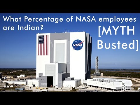 [Myth Busted] How many NASA employees are Indian?