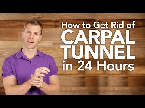 How to Get Natural Carpal Tunnel Relief in 24 Hours