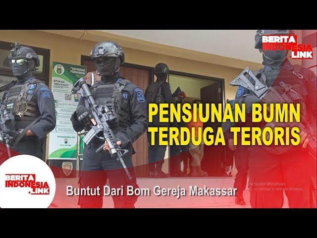Terduga Teroris Pensiunan BUMN