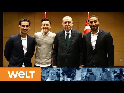 Debatte um Özil und Gündogan: Schatten über Kadervorstellung des Bundestrainers für die Fußball-WM