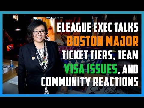 ELEAGUE exec talks Boston Major's ticket tiers, visa issues, and community criticism