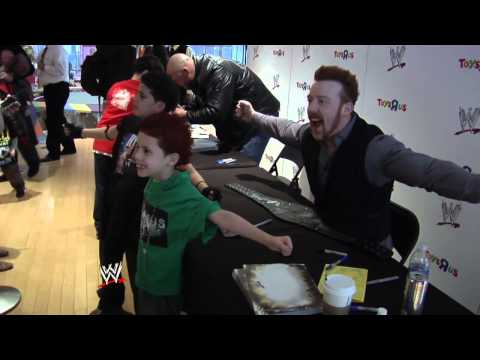 Sheamus & Ryback Sign Autographs At Toys R Us Times Square
