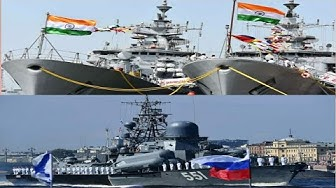 India  and Russia  joint operation on indian occian
