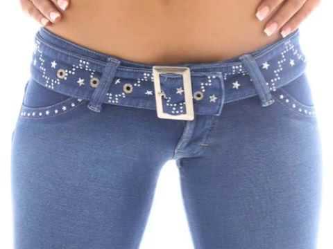 Brazilian sexy jeans, low rise www.excelfashion.com - YouTube