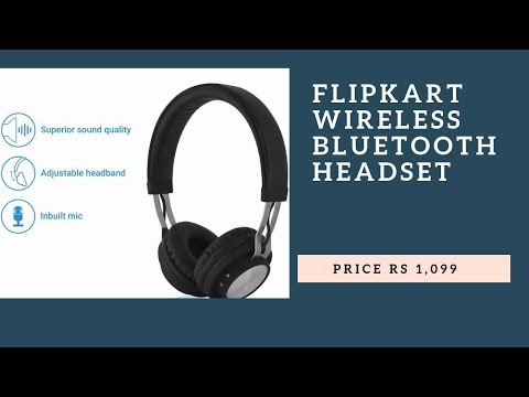 Flipkart Headset Smartbuy Rich Bass Wireless Bluetooth Headset With Mic More And Best Bass Youtube