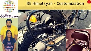 Royal Enfield Himalayan Modifications and Accessories | Feat. Donowyn Customs | Mumbai